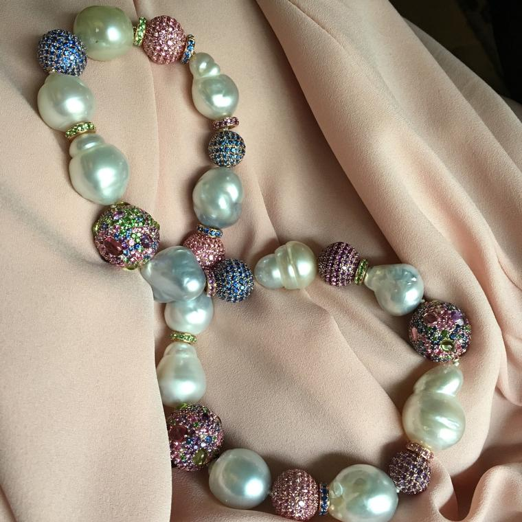 Margot McKinney Australian South Sea baroque pearl necklace