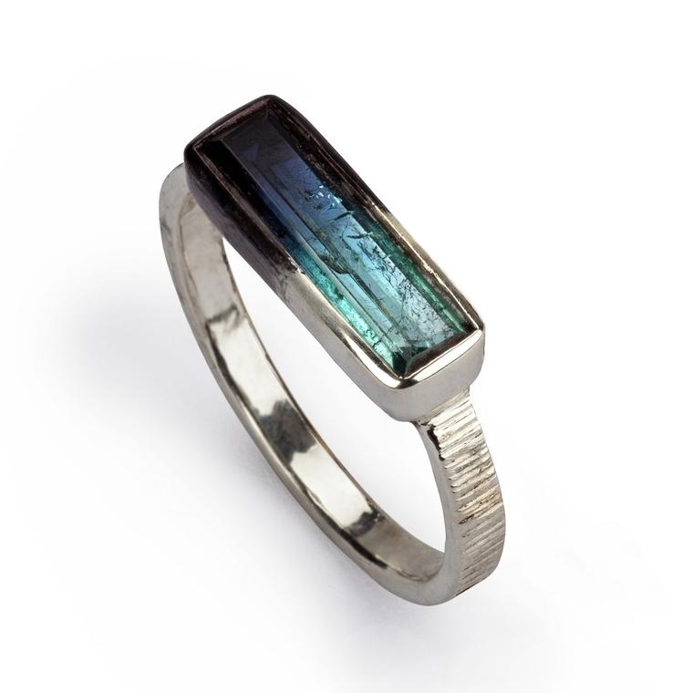 Beth Gilmour tourmaline ring