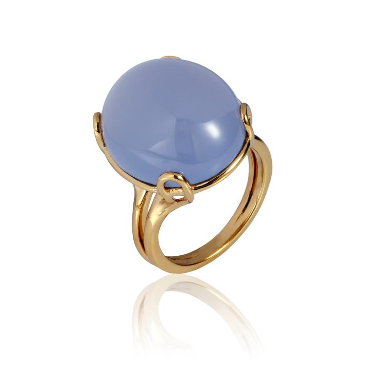 Gemstone du jour: cool blue chalcedony
