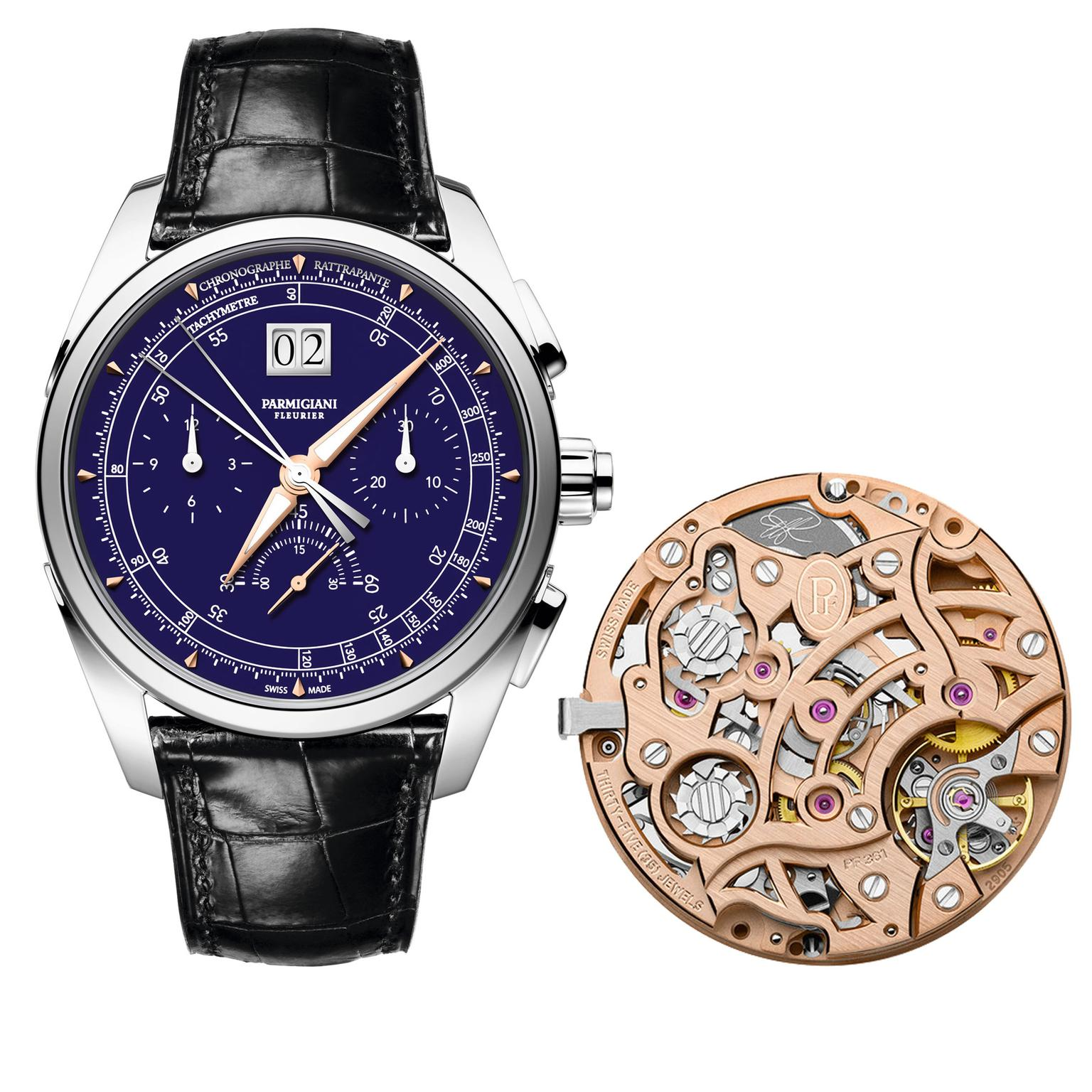 Parmigiani Tonda Chronor Anniversaire watch
