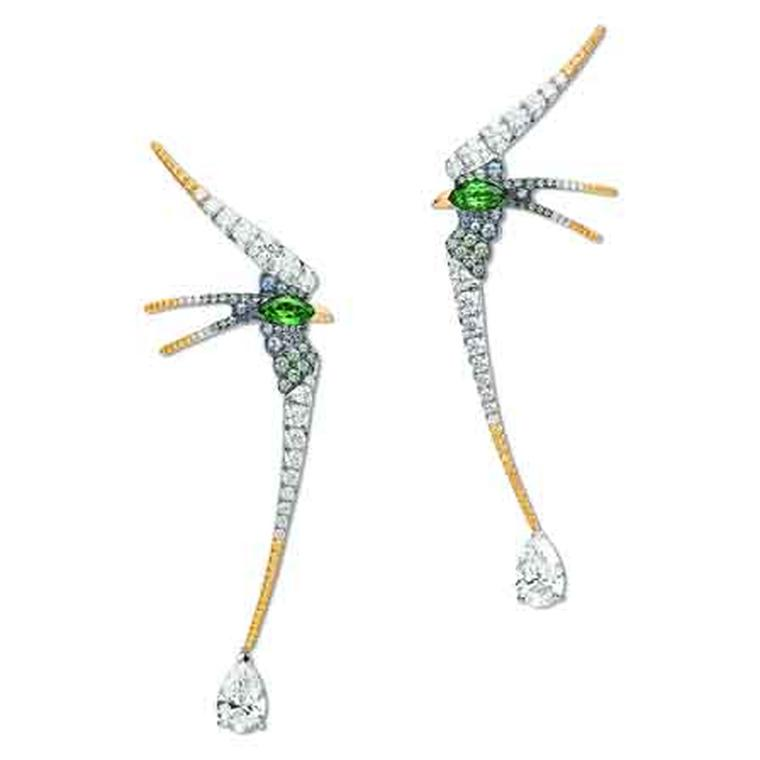 Les Ciels de Chaumet Envol earrings