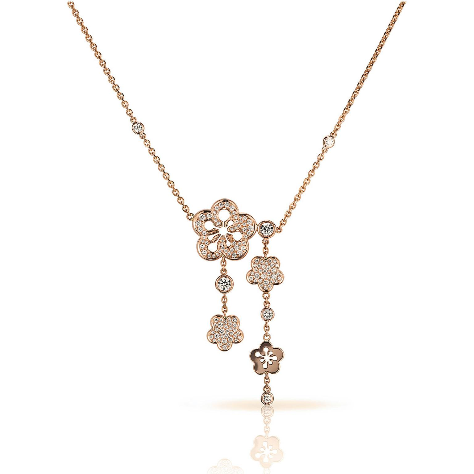 Boodles Blossom diamond necklace