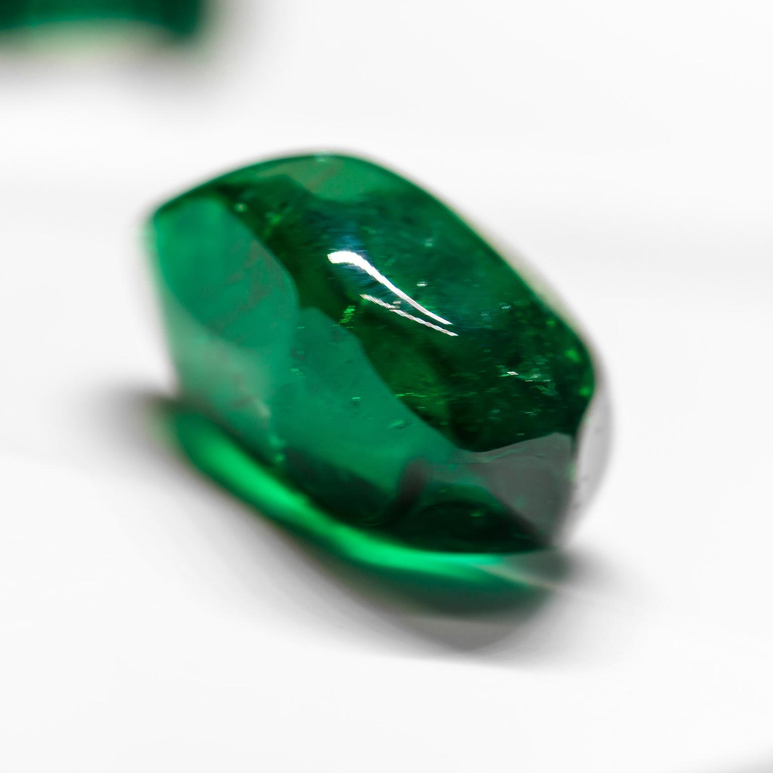 Muzo Emerald polished gem
