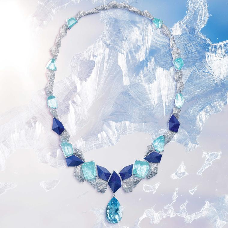 Piaget Sunlight Escape  Infinite Blue Necklace