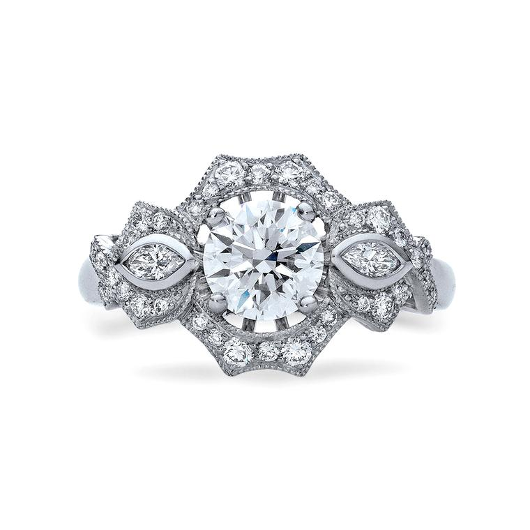 Fairfax & Roberts diamond engagement ring