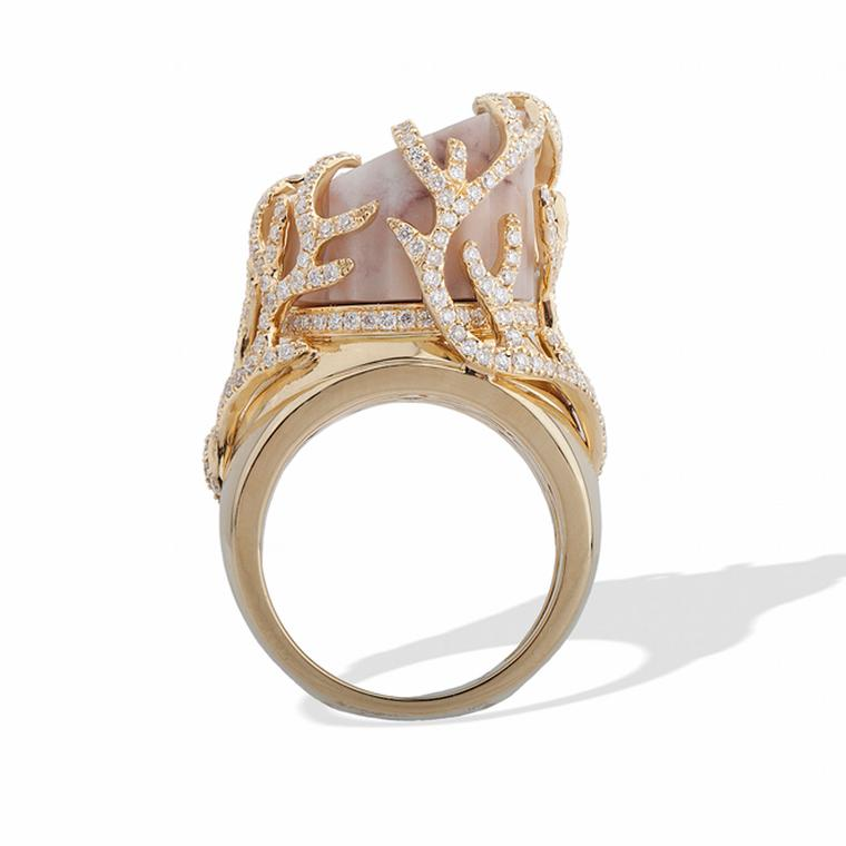 CompletedWorks Vine gold ring