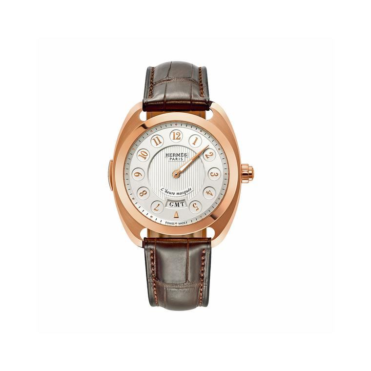 Hermes Dressage l'Heure Masquee GMT watch