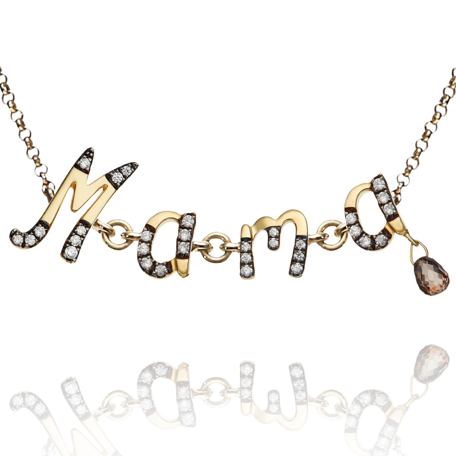 Annoushka bespoke Chain Letters necklace
