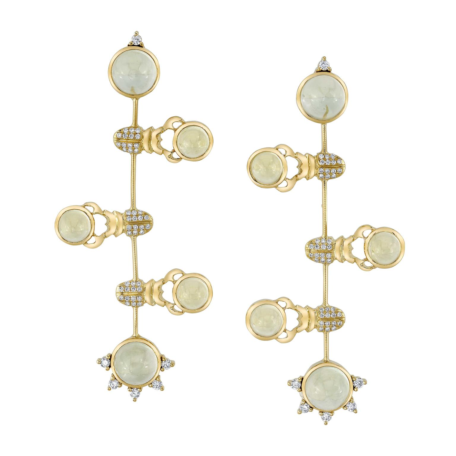 Daniela Villegas Alined earrings