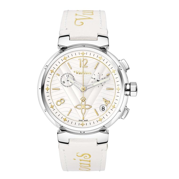Louis Vuitton Tambour New Wave 39.5 mm chronograph watch