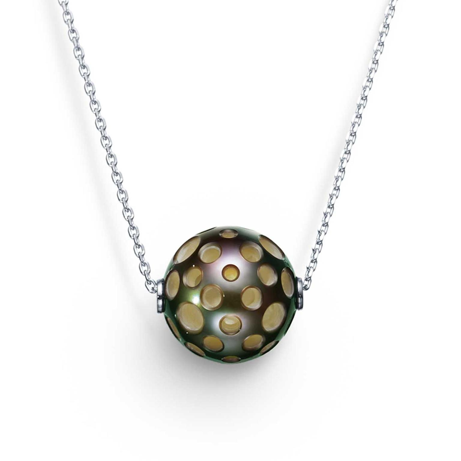 M/G Tasaki Drilled necklace freshwater pearls