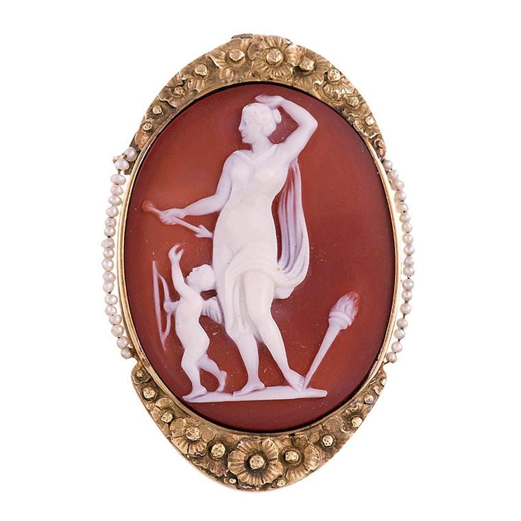 Fourtane Victorian cameo