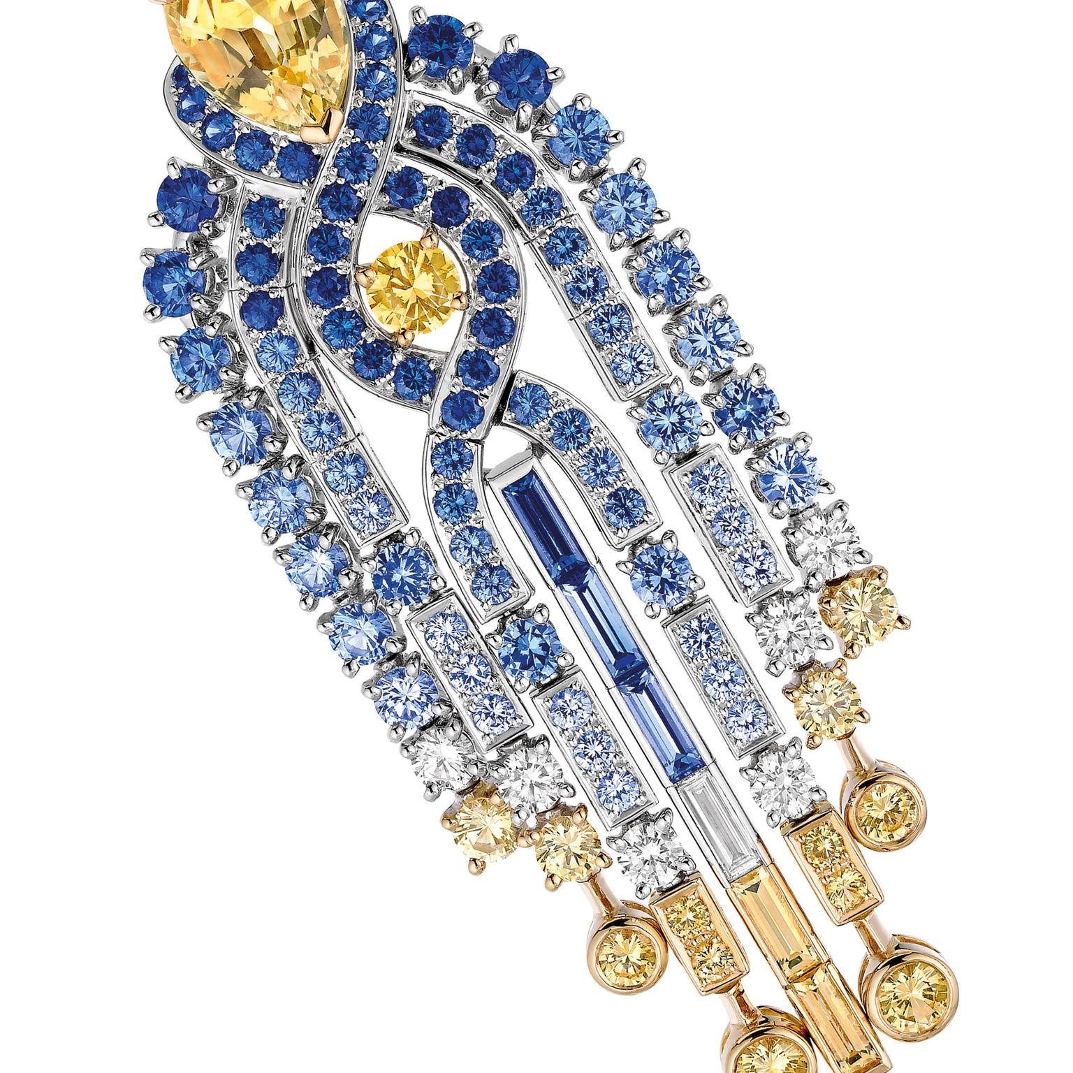 Sapphire jewellery for Christmas Chaumet crop