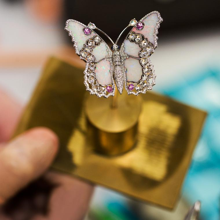 Van Cleef & Arpels Fée Ondine white gold butterfly