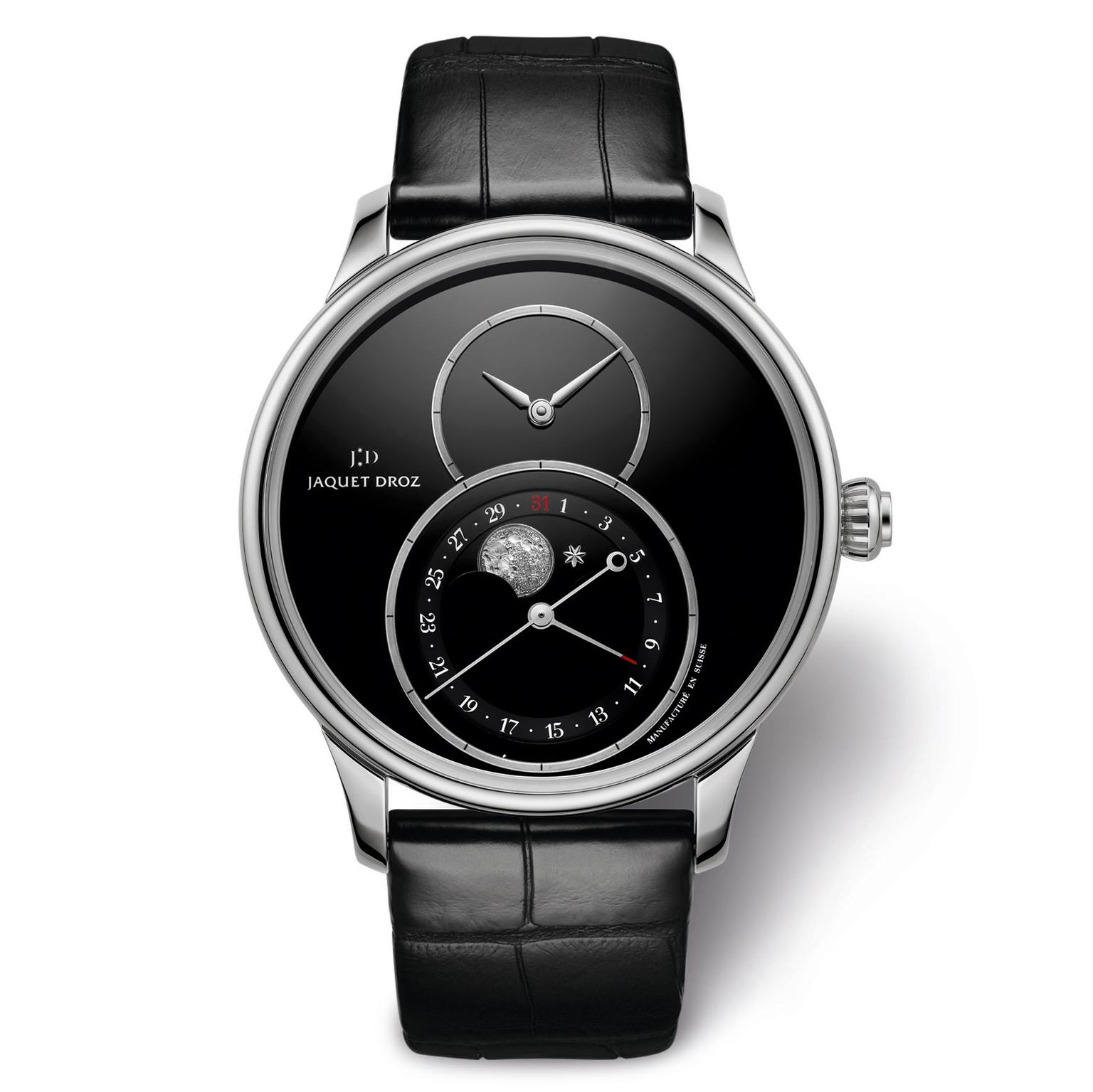 Jaquet Droz Grande Seconde Moon watch