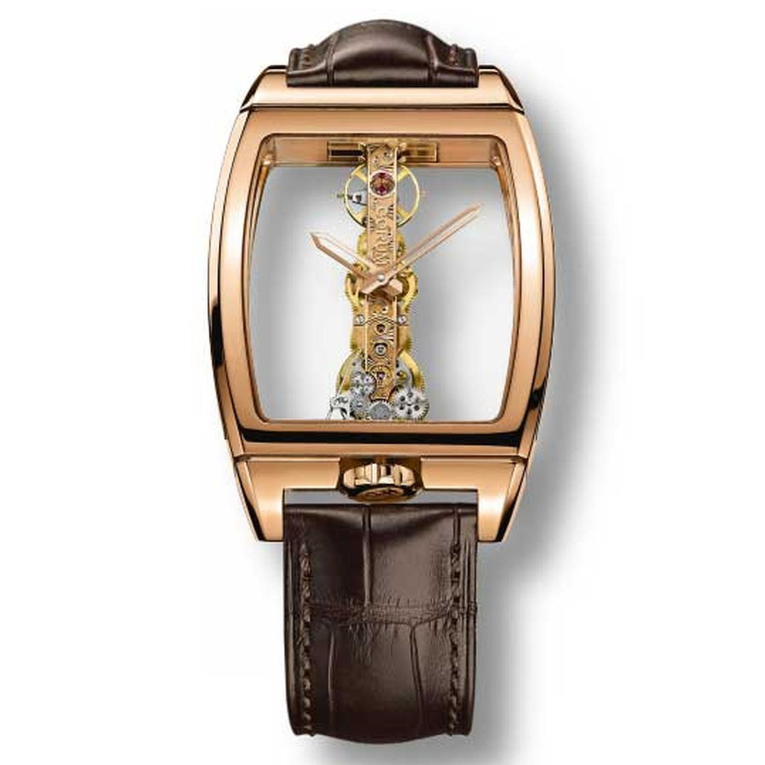 Corum Golden Bridge watch from 1980