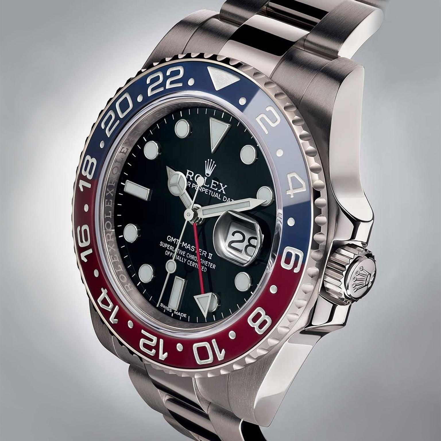 The 2014 Rolex Oyster Perpetual GMT-Master II with pepsi bezel