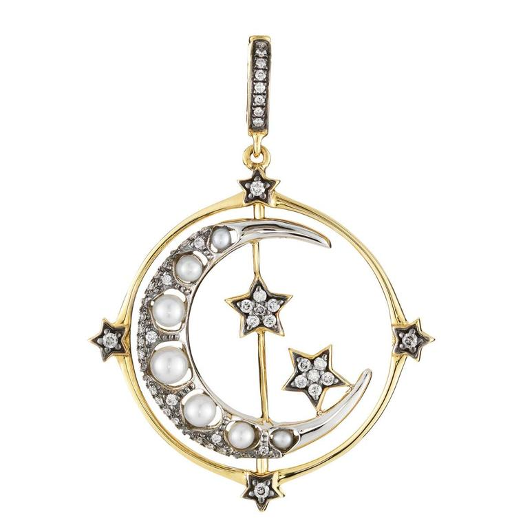Annoushka Mythology Spinning Moon charm