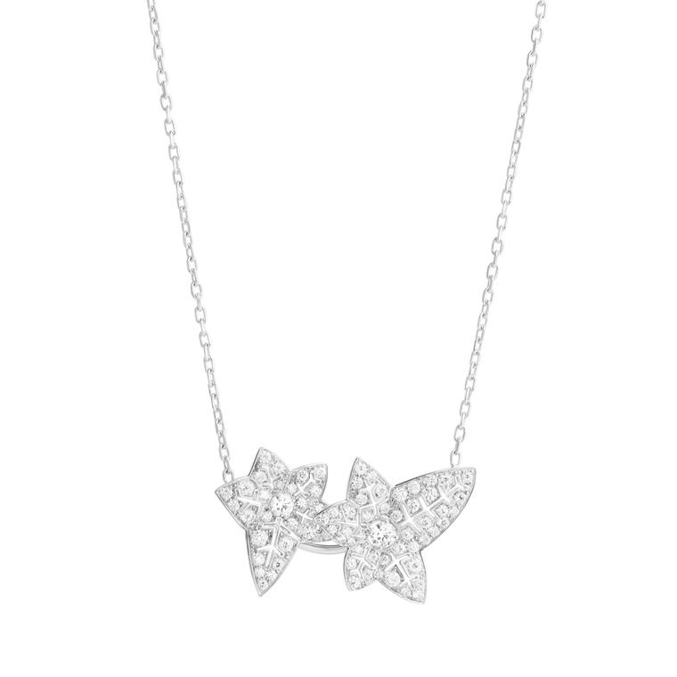 Boucheron Nature Triomphante Lierre de Paris necklace