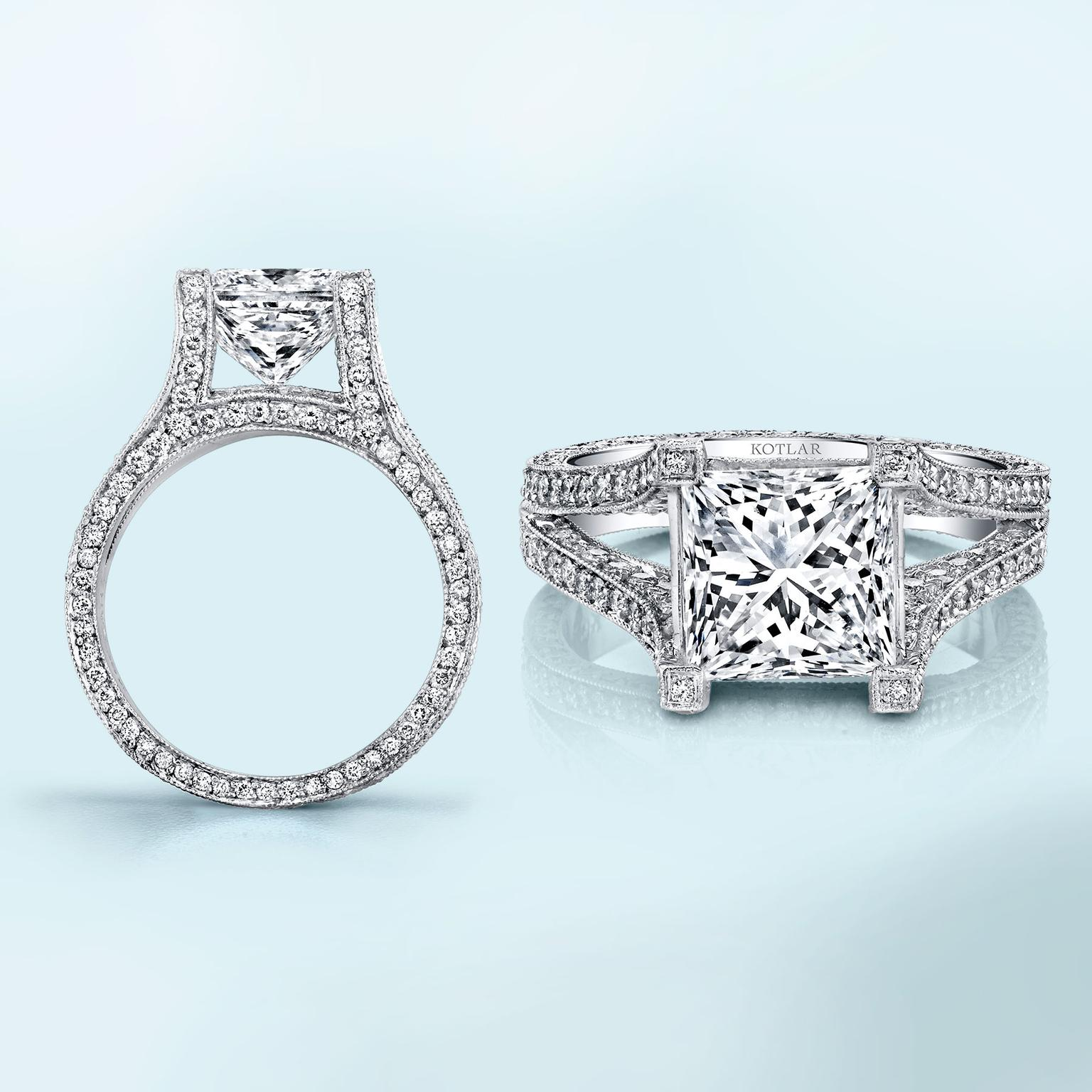 5a6726a8053b3 The romantic appeal of princess-cut engagement rings | The Jewellery ...