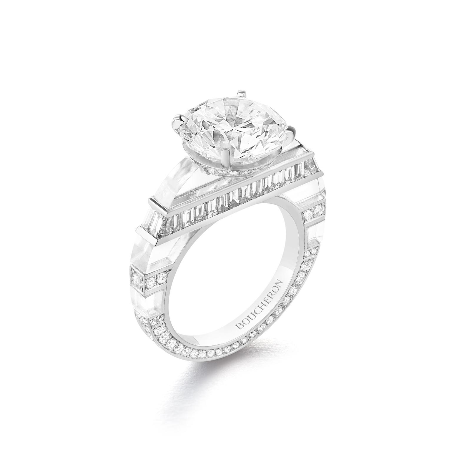 Boucheron Hiver Impérial Givre ring