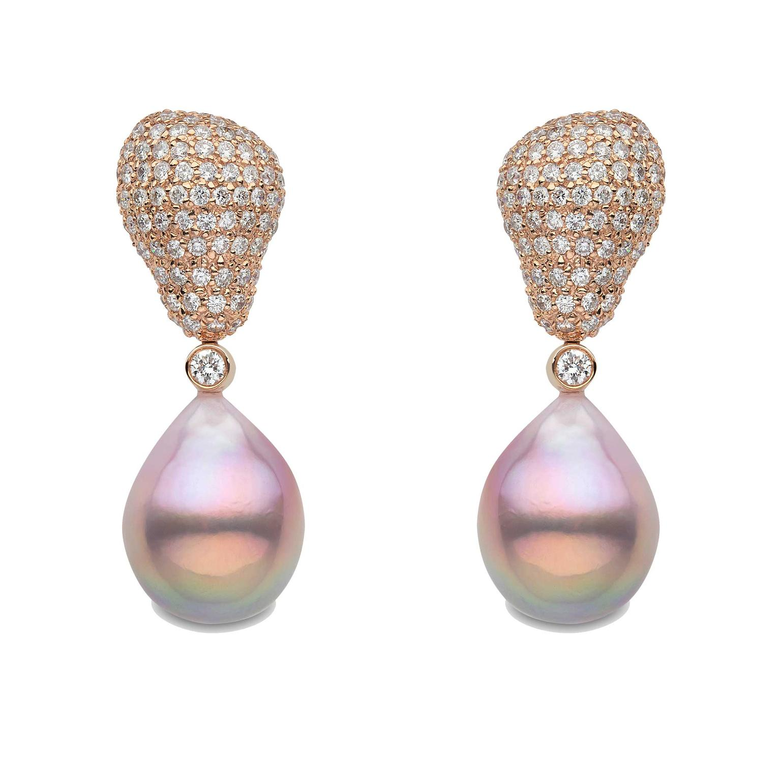 Yoko London freshwater pearl earrings