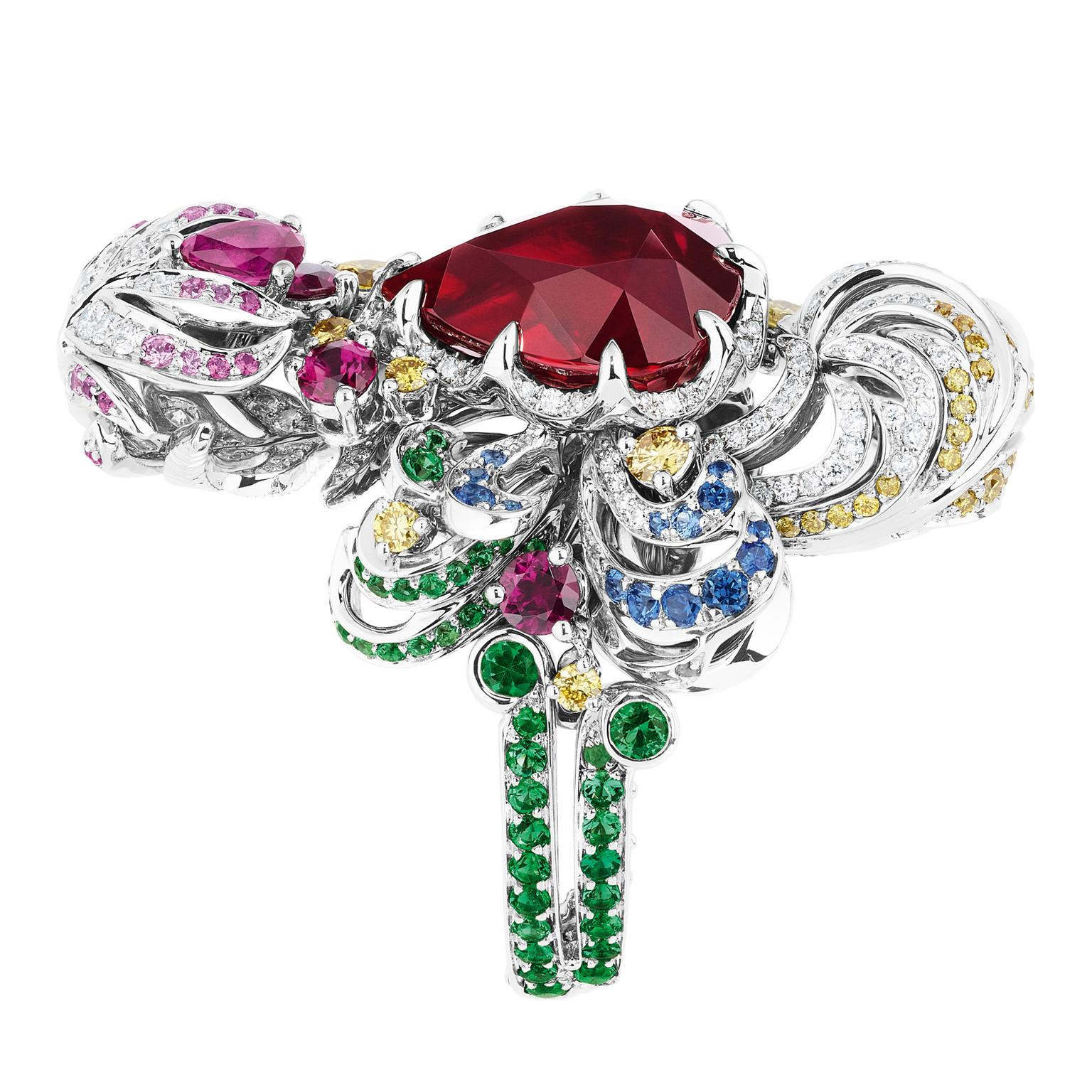 Dior Ruby Nymphs Bath ring