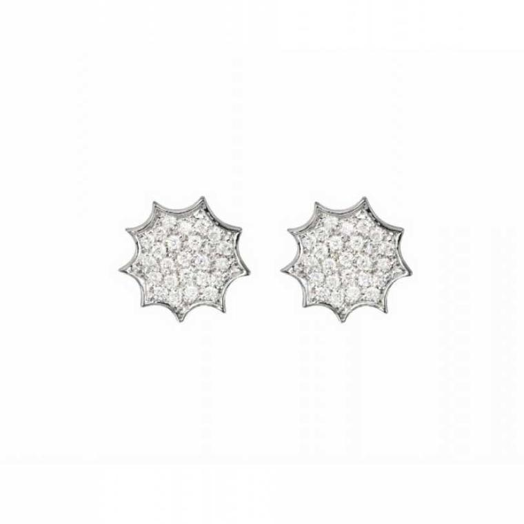 Mimata Stars Singles diamonds earrings