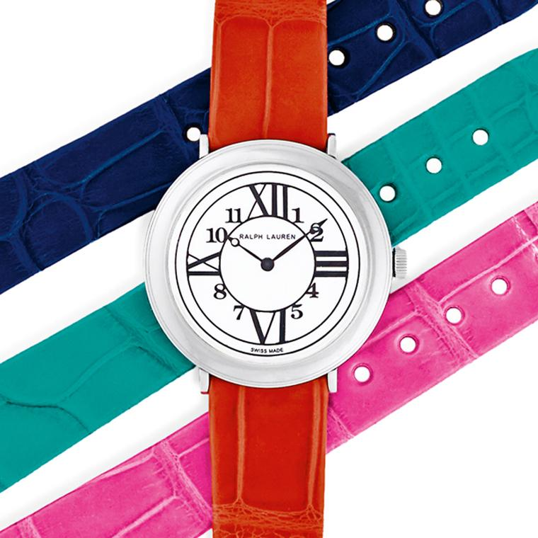 Ralph Lauren's wardrobe of colors for your wrist