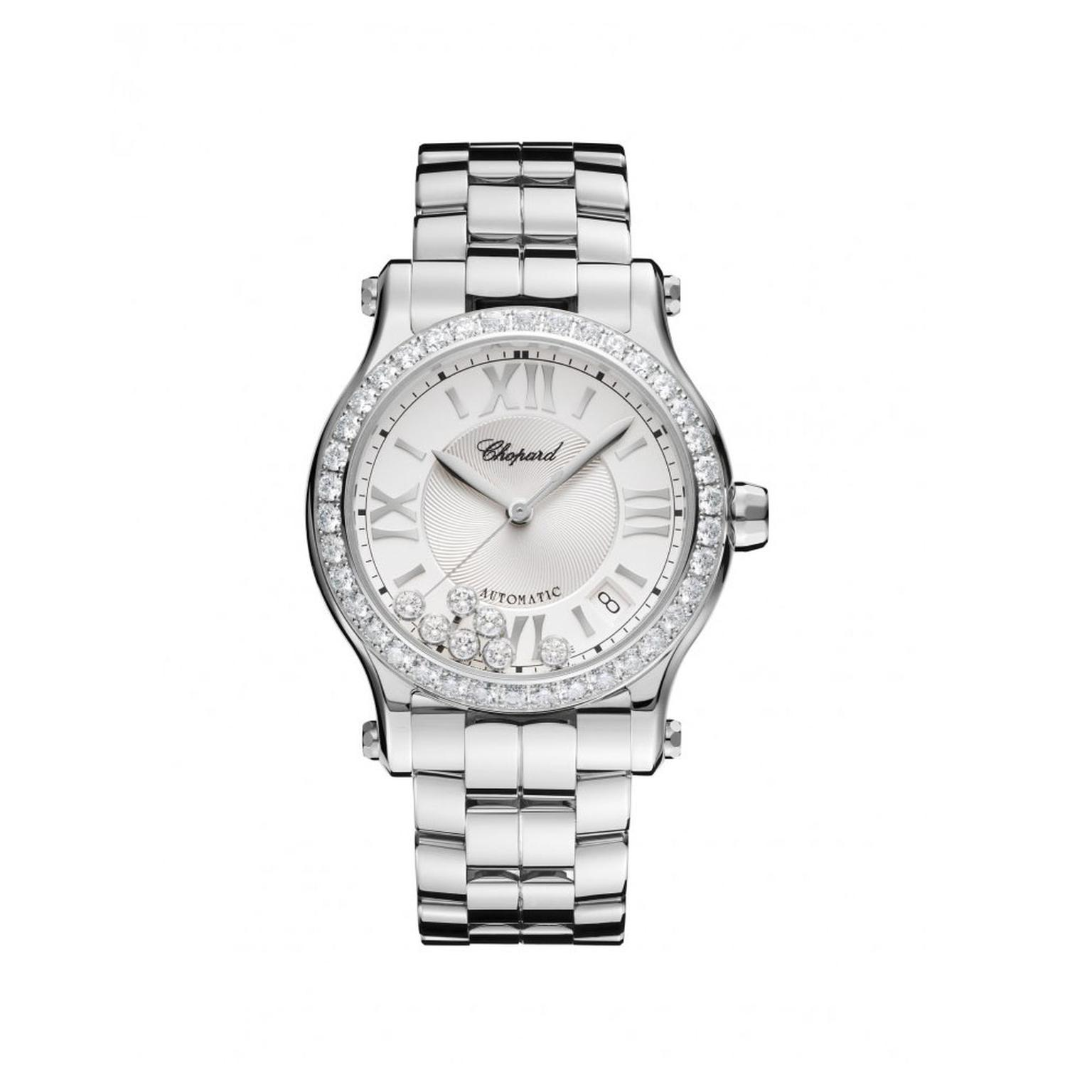 Chopard Happy Sport Automatic diamond watch