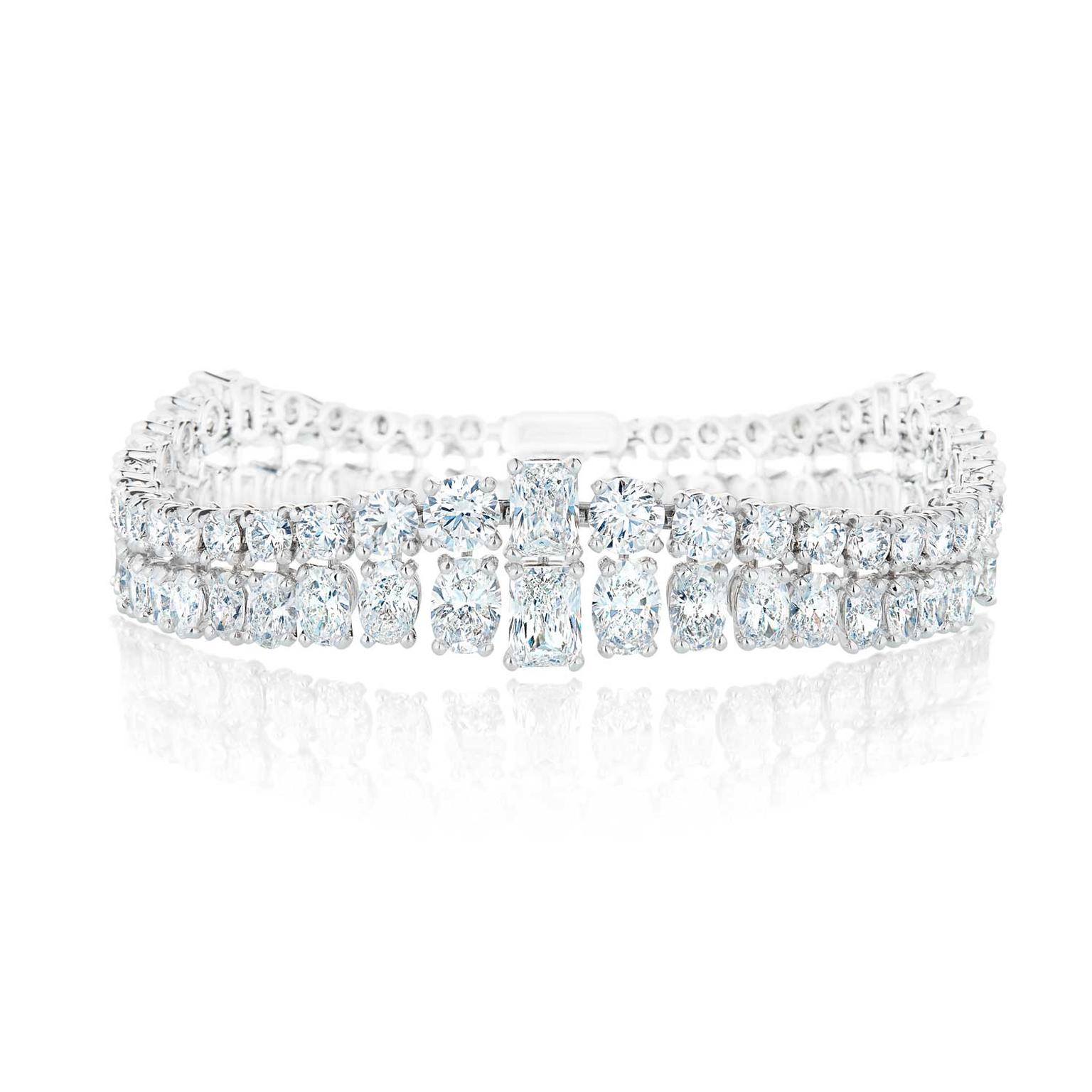 De Beers Albert Bridge diamond bracelet