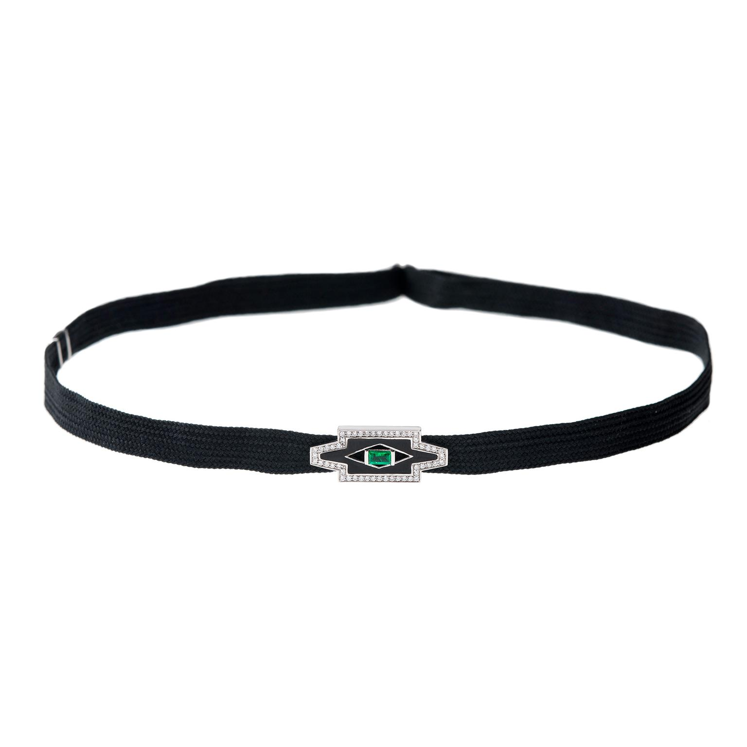 Nikos Koulis Yesterday black choker
