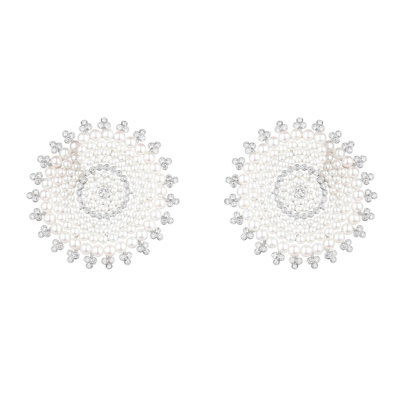 Boucheron Nuit Etoilce earrings