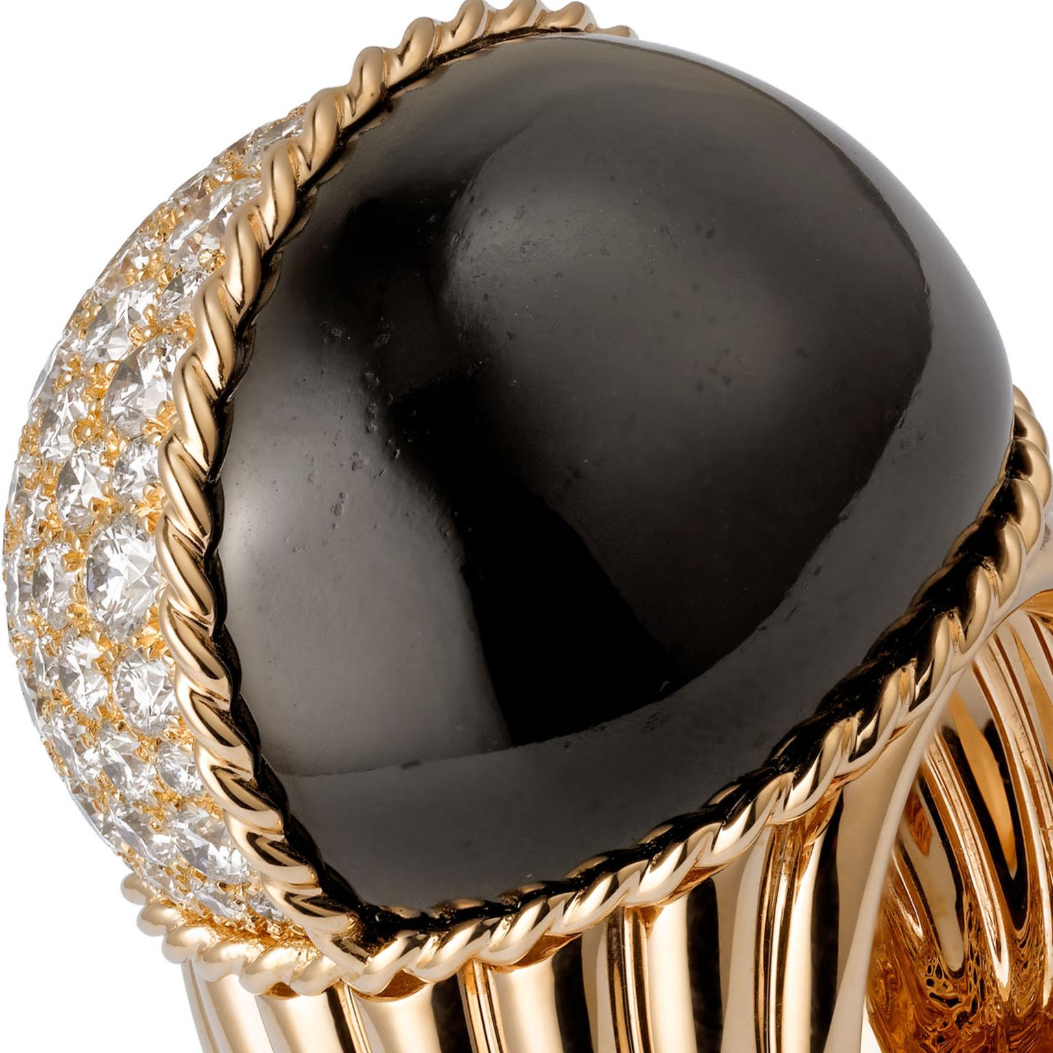 Cartier black jade in fine jewellery
