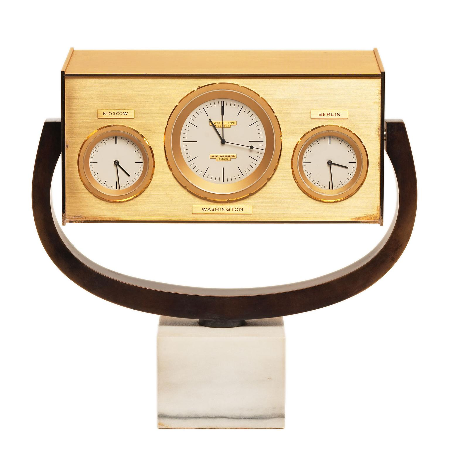 John F. Kennedy table clock