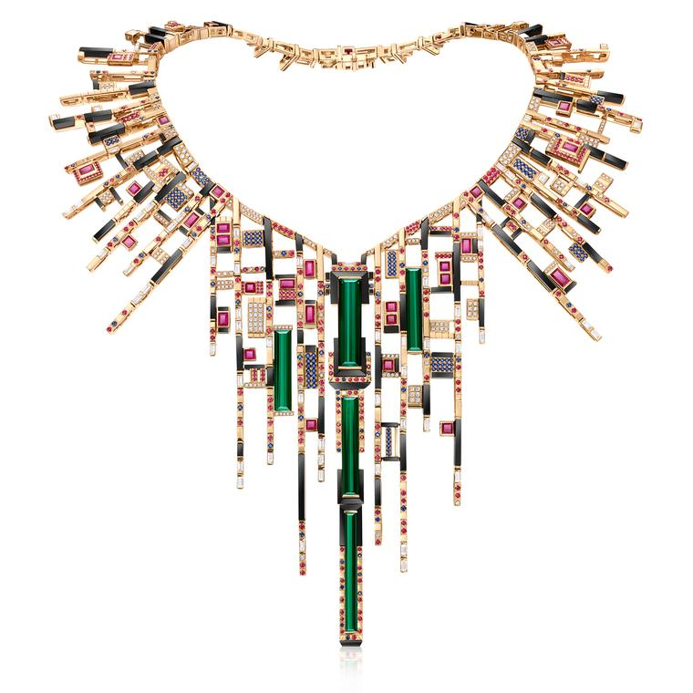 Chow Tai Fook Les Blocs de Fantaisie necklace