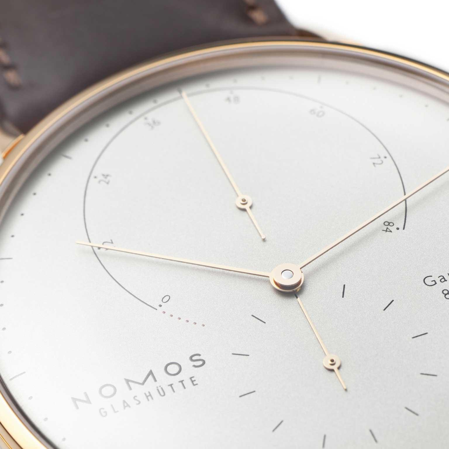 Nomos-Lambda-rose-gold-white-dial