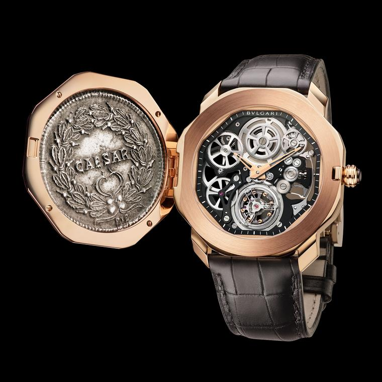Bulgari Octo Monete Finissimo Tourbillon watch