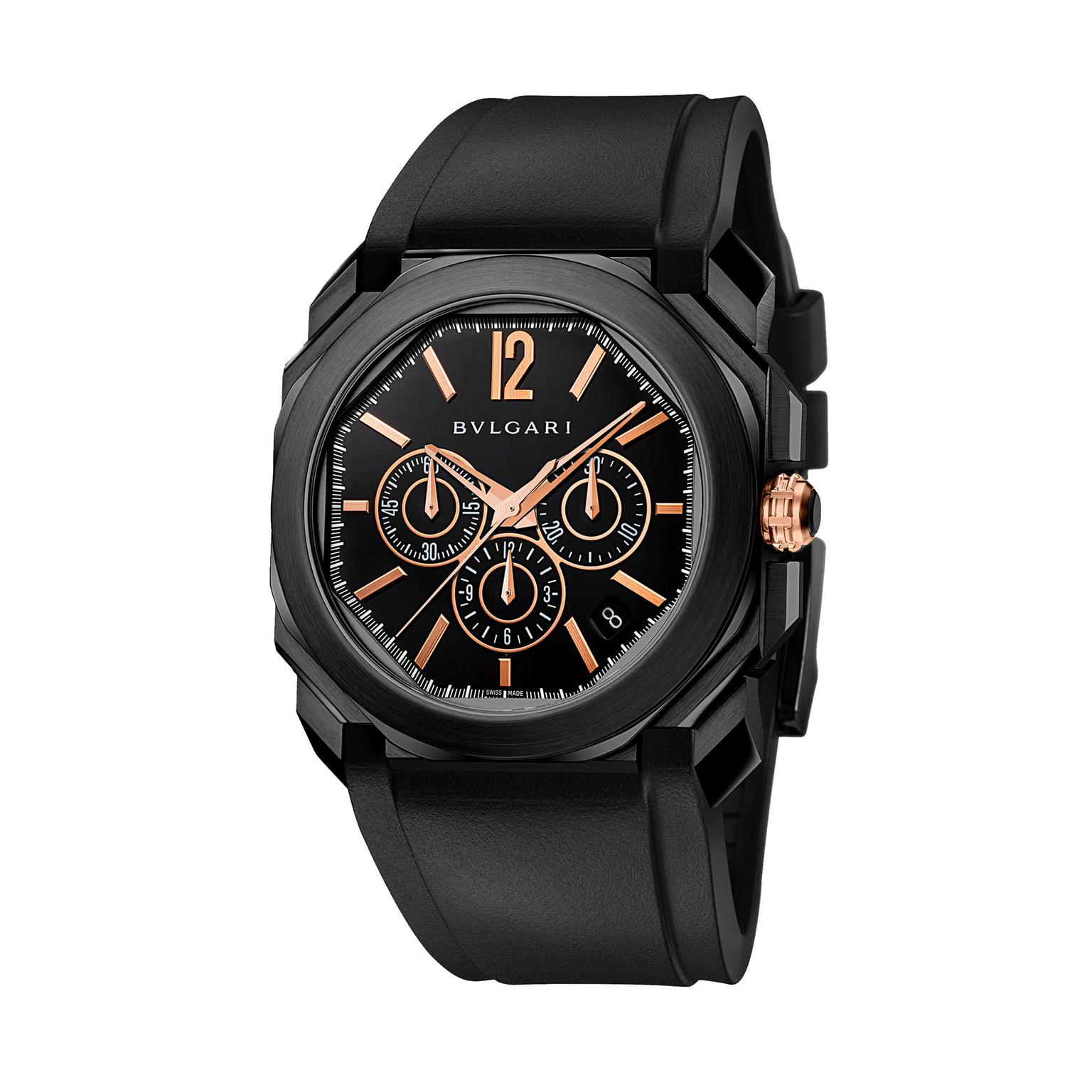 Bulgari Octo Velocissimo Chronograph watch