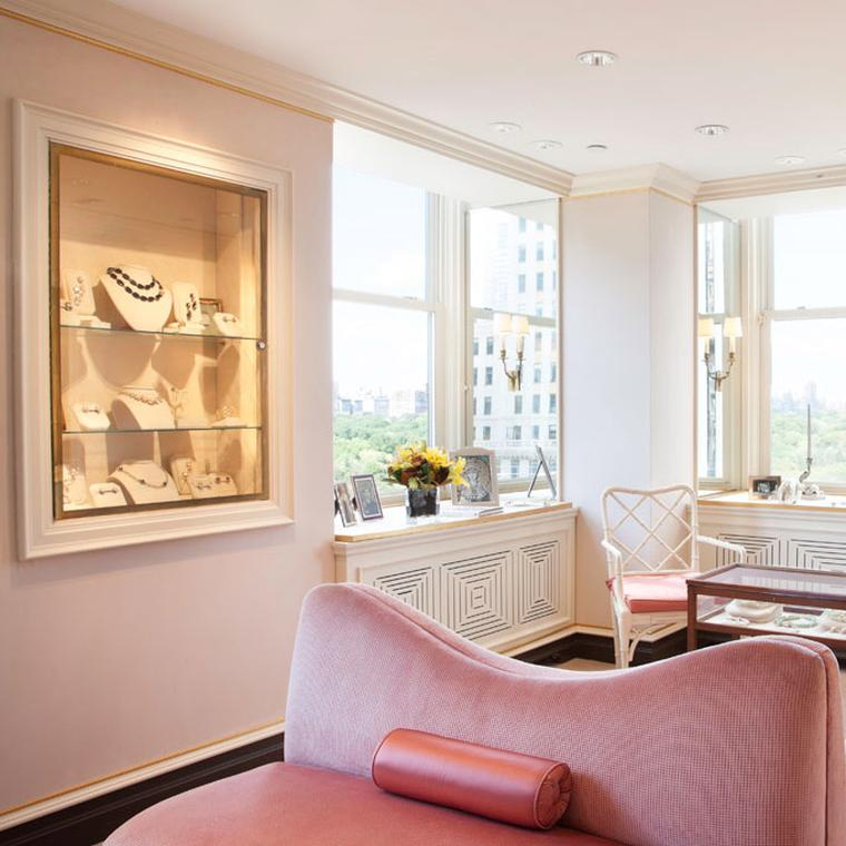 The Pink Room at Verdura in New York