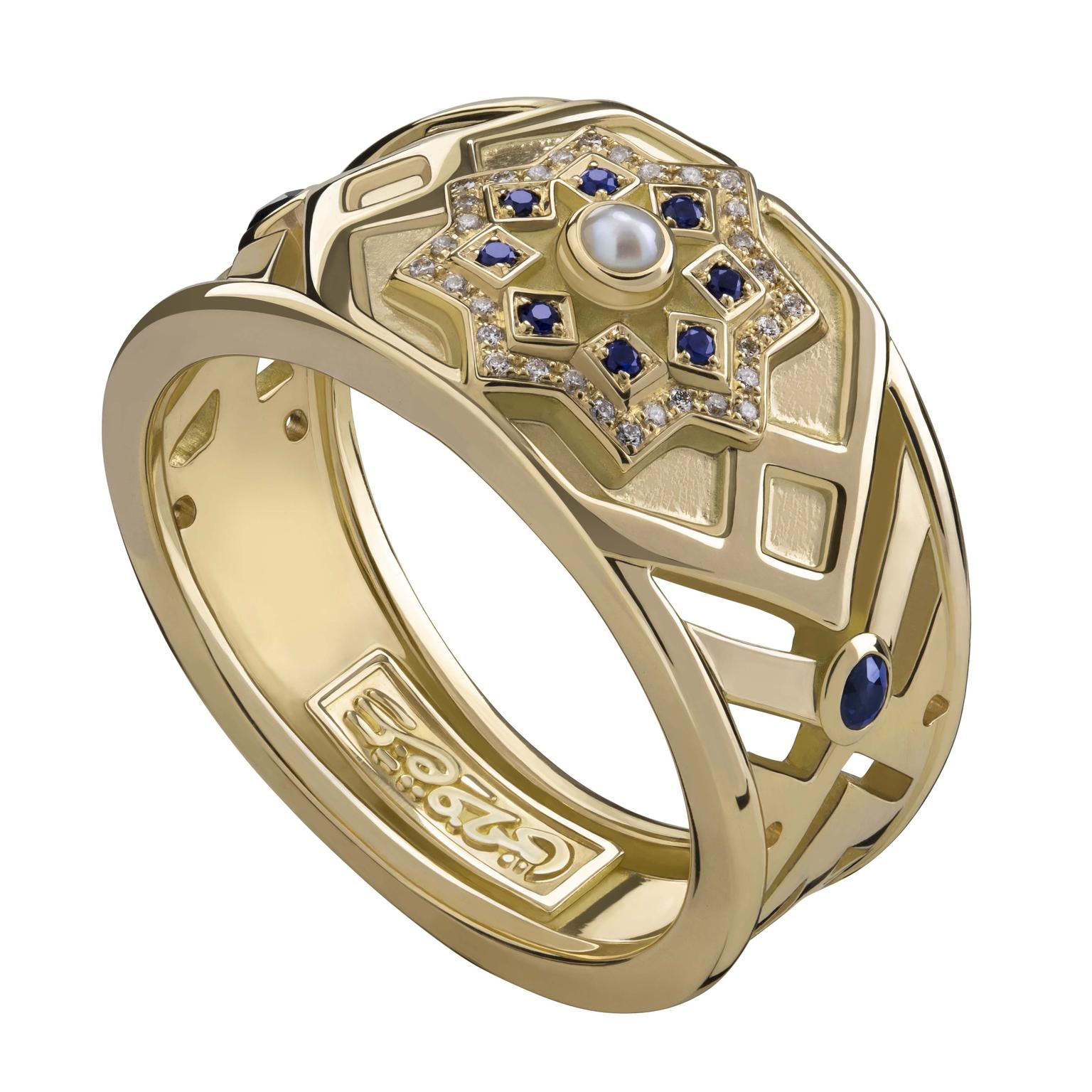 Qalawun ring by Azza Fahmy