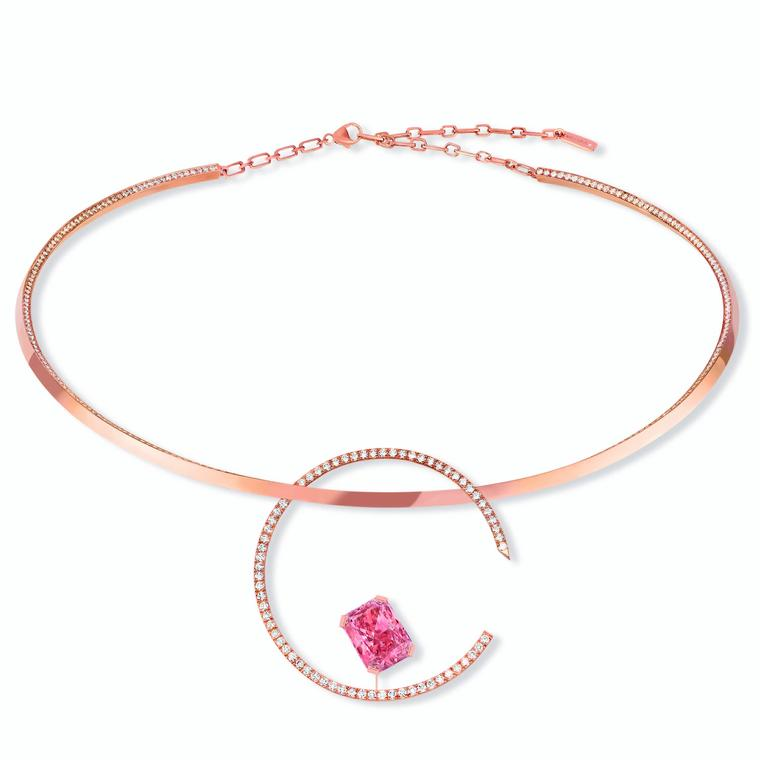 Messika Pink Temptation choker