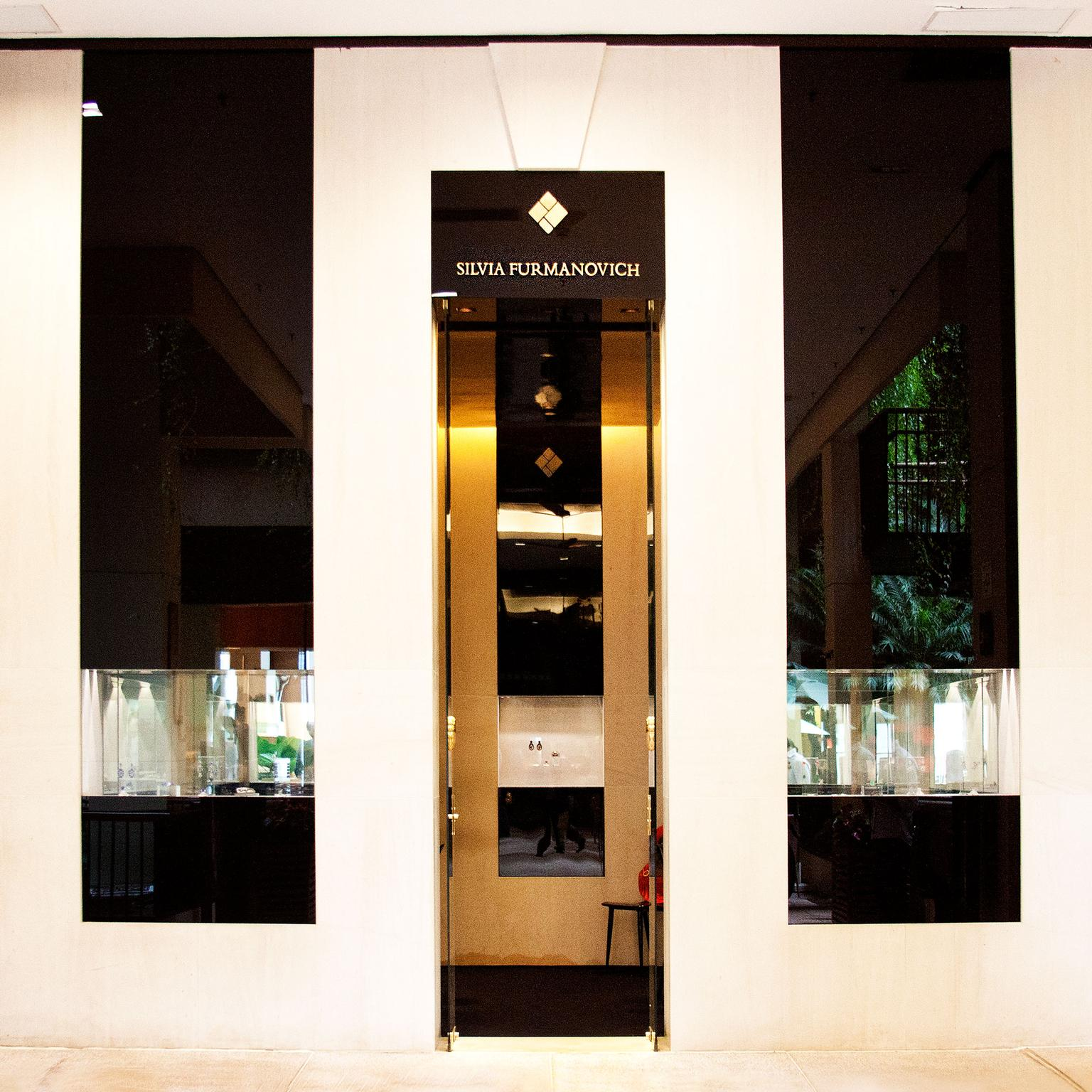 Silvia Furmanovich boutique - entrance