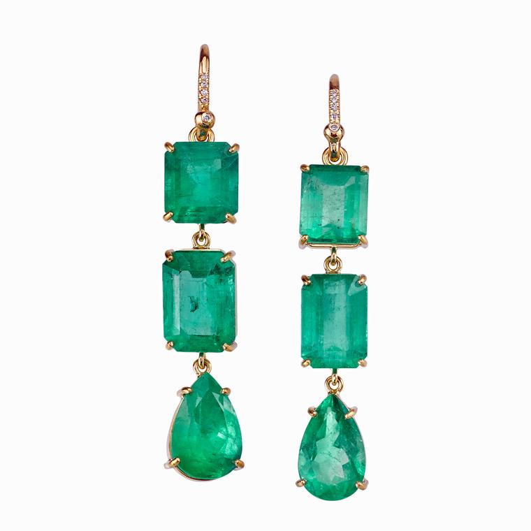 Irene Neuwirth emerald earrings
