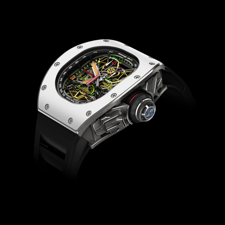 RM 50-02 ACJ Tourbillon Split Seconds Chronograph watch by Richard Mille