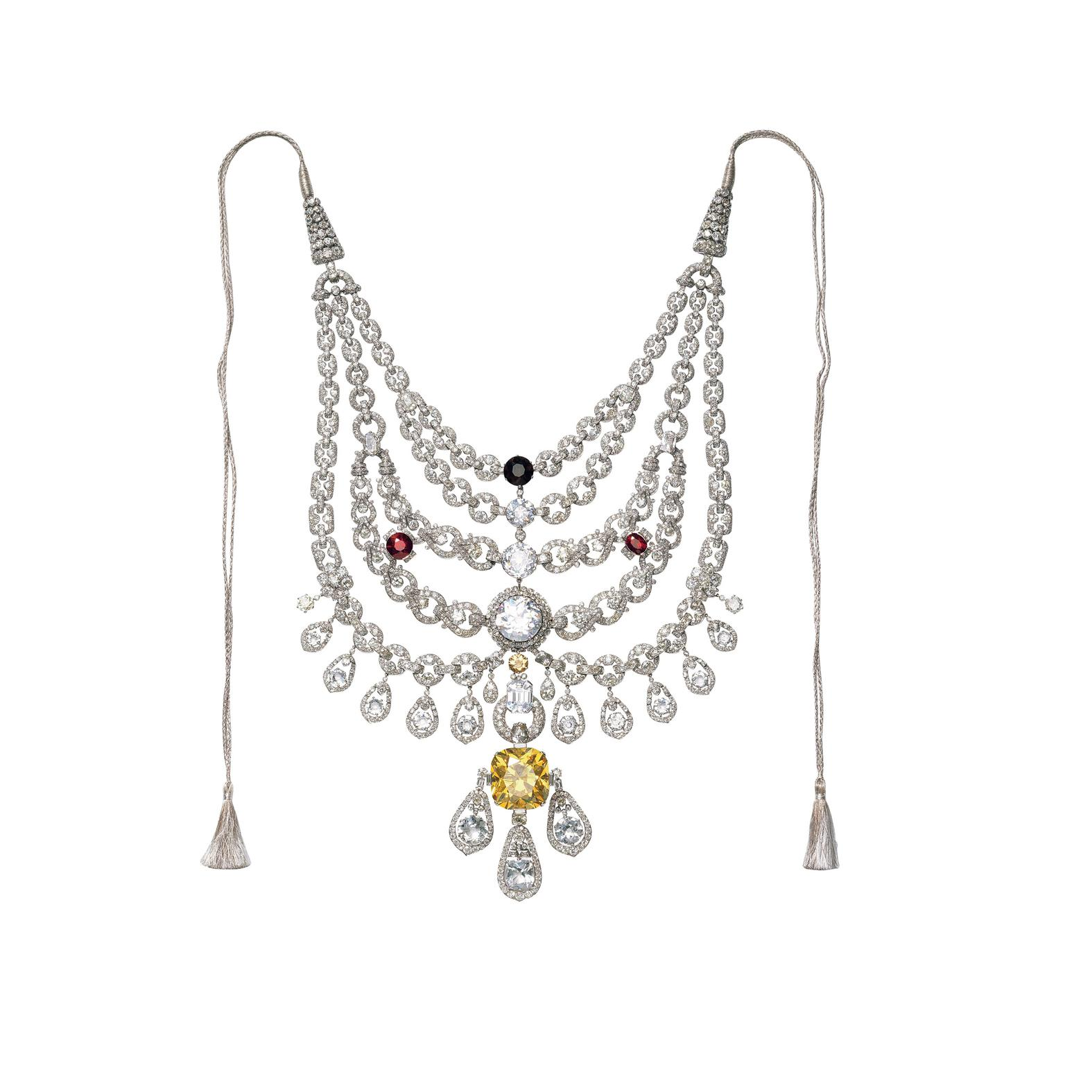 Cartier necklace of the Maharaja of Patiala
