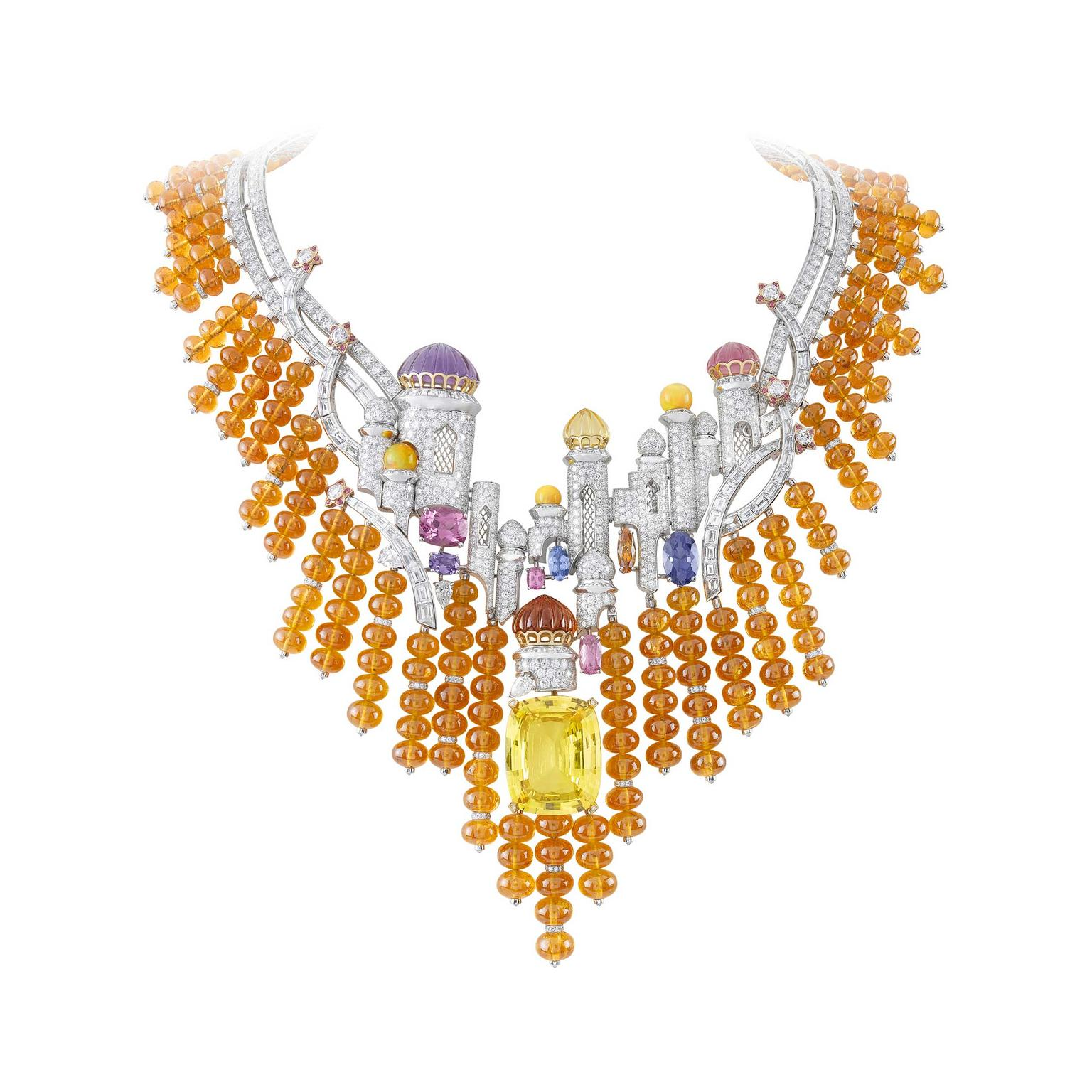 Van Cleef & Arpels Izmir necklace from Bals de Legende collection