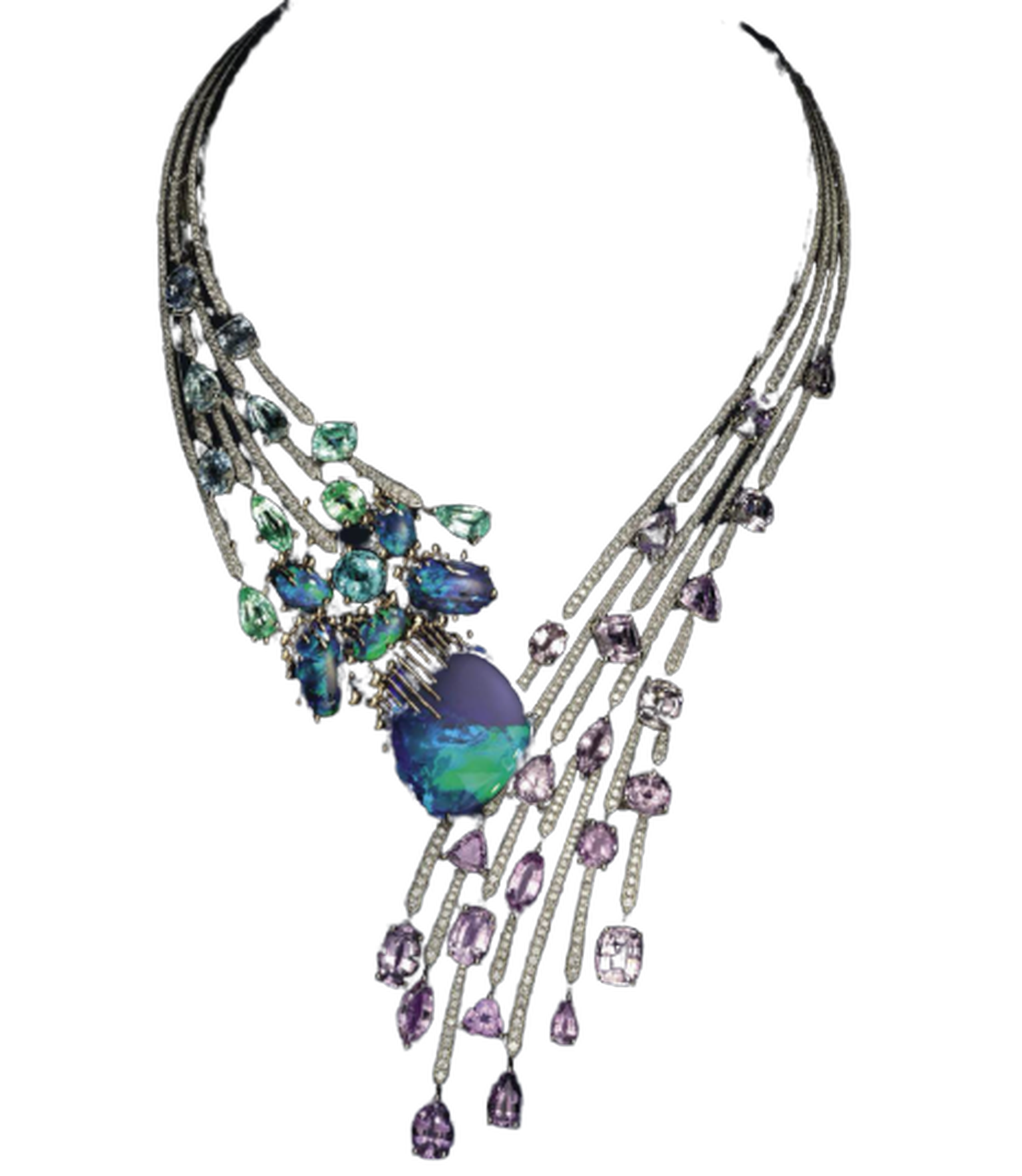 Les Ciels de Chaumet Passages high jewellery necklace