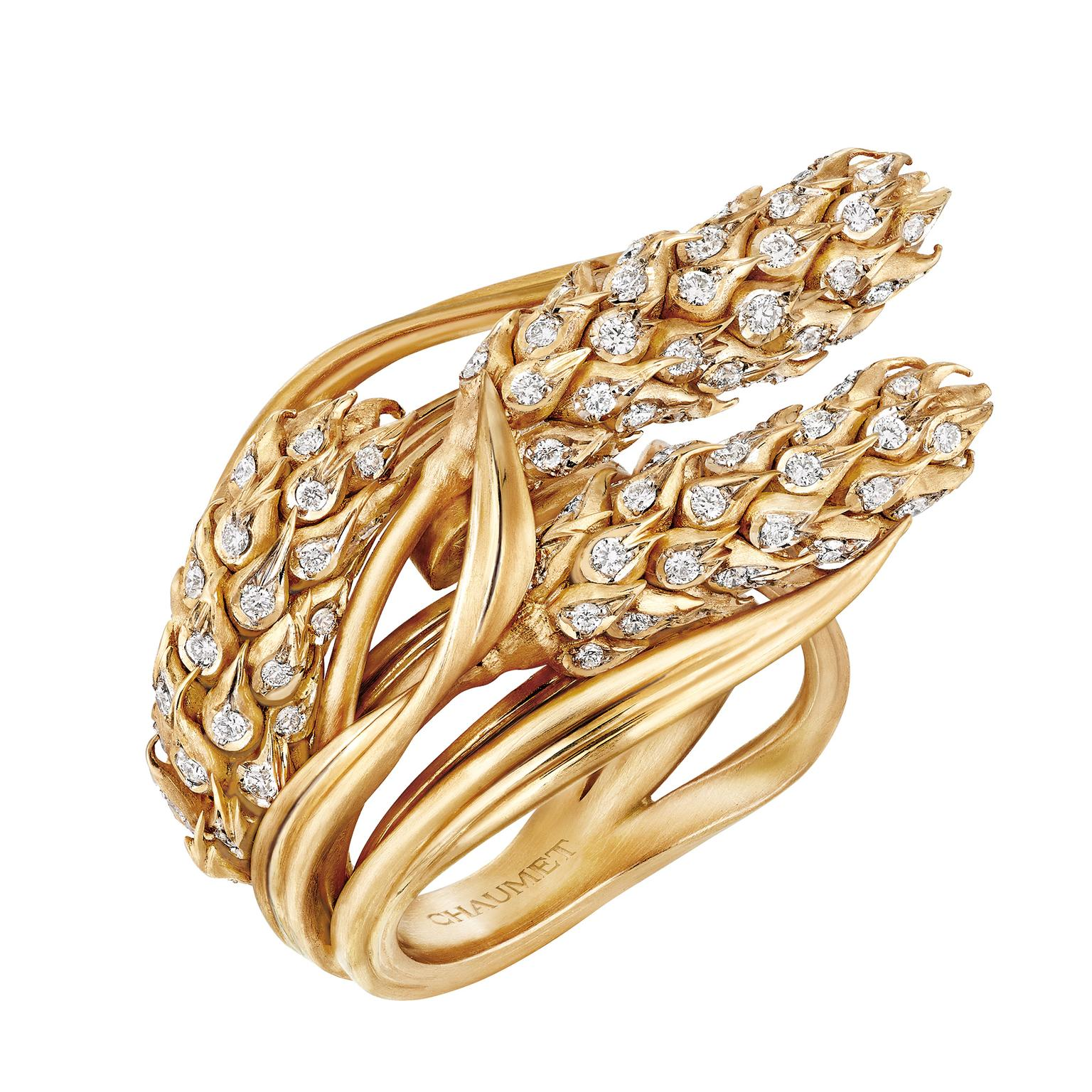Chaumet L'Épi de Blé wheat ring