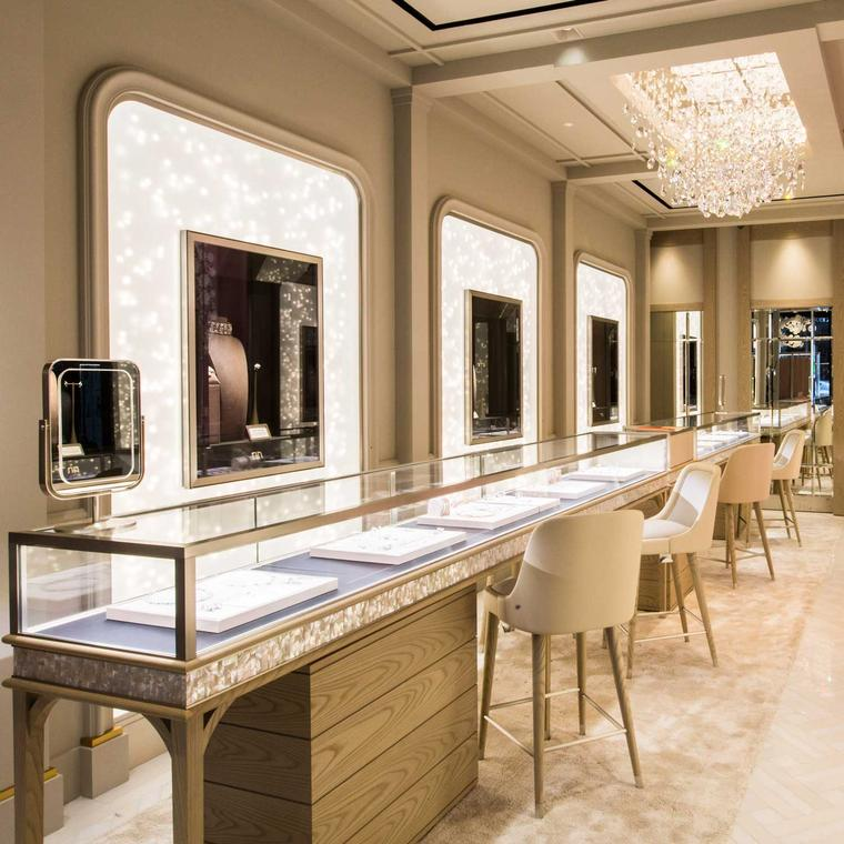 Ground floor of the Nirav Modi boutique in London